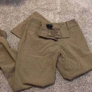 IZ Byer California Pinstriped Dress Slacks sz 9